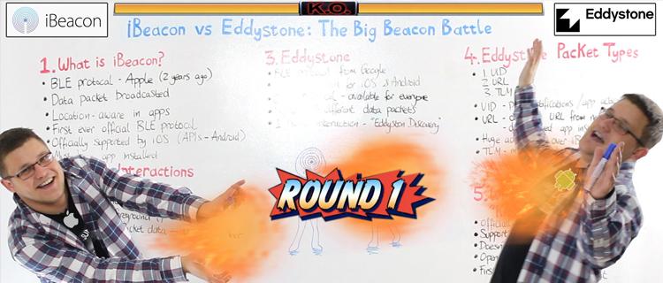 Eddystone vs iBeacon: The Big Beacon Battle – Pulsate Academy