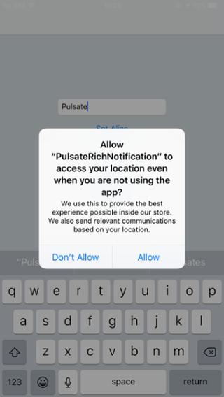 iOS10 Permission